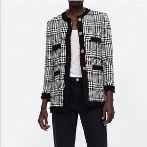 NWT tweed blazer
